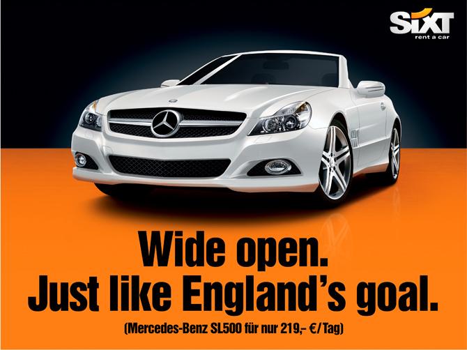 Car Rental England Sixt