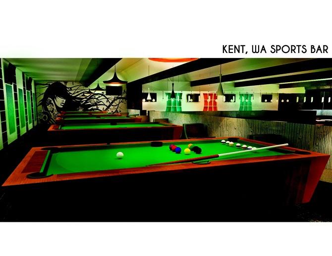 Sports Bar - KiselevO Interior Design